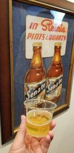 Heurich Senate Beer poster