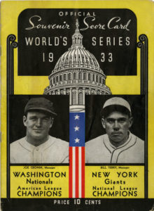 The Washington Nationals head to the 2019 World Series, the first time since 1933.